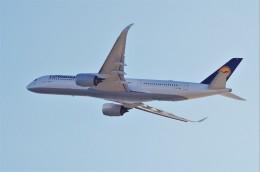 mild lifeさんが、関西国際空港で撮影したルフトハンザドイツ航空 A350-941の航空フォト(飛行機 写真・画像)