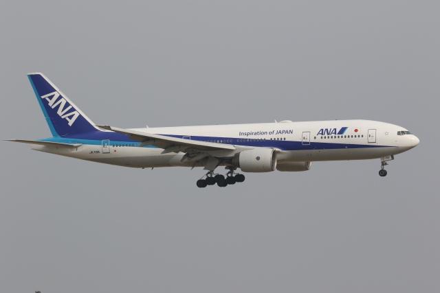 OS52さんが、羽田空港で撮影した全日空 777-281の航空フォト(飛行機 写真・画像)