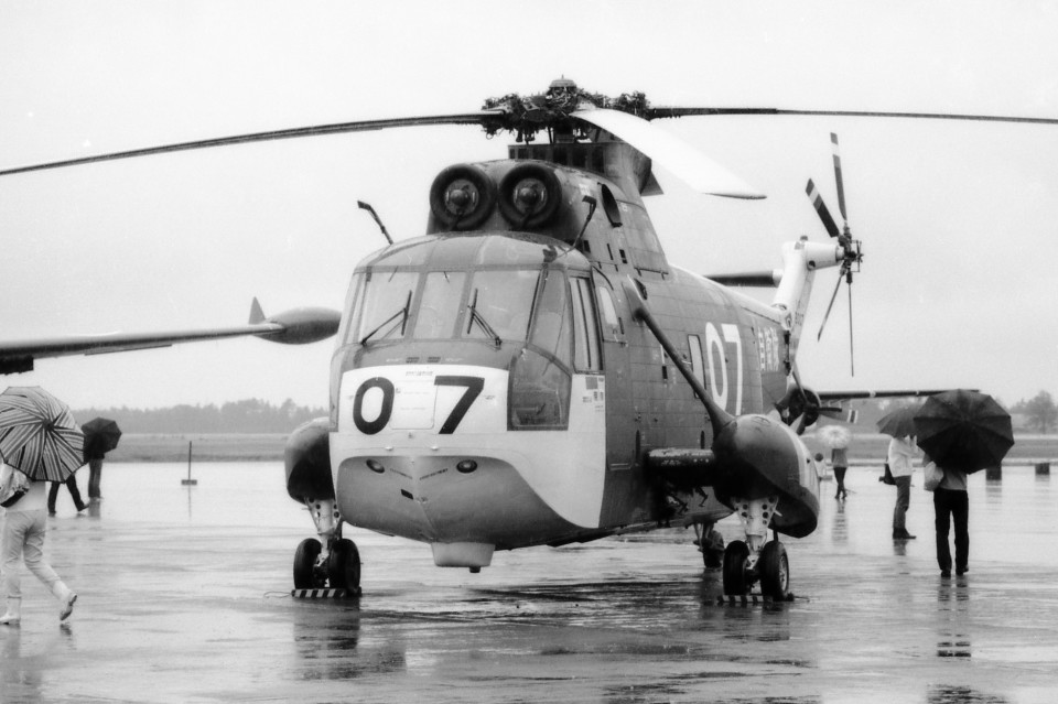 apphgさんの海上自衛隊 Mitsubishi S-61 (8007) 航空フォト