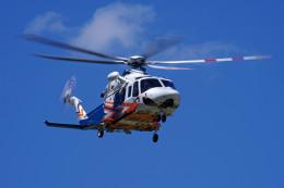 apphgさんが、静岡ヘリポートで撮影した静岡県消防防災航空隊 AW139の航空フォト(飛行機 写真・画像)