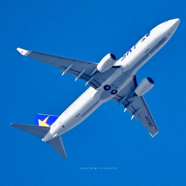 VICENTE AGEMATSUさんが、羽田空港で撮影したスカイマーク 737-86Nの航空フォト(飛行機 写真・画像)