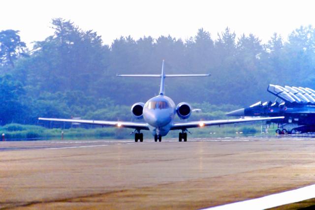 AWACSさんが、松島基地で撮影した航空自衛隊 U-125A(Hawker 800)の航空フォト(飛行機 写真・画像)