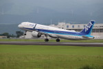 flyflygoさんが、熊本空港で撮影した全日空 A321-272Nの航空フォト(飛行機 写真・画像)