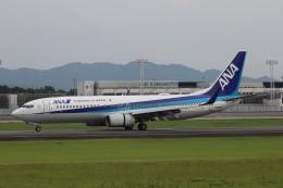 flyflygoさんが、熊本空港で撮影した全日空 737-881の航空フォト(飛行機 写真・画像)