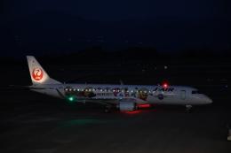 なないろさんが、鹿児島空港で撮影したジェイエア ERJ-190-100(ERJ-190STD)の航空フォト(飛行機 写真・画像)