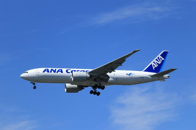 kenzy201さんが、成田国際空港で撮影した全日空 777-F81の航空フォト(飛行機 写真・画像)