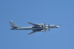 しゅん83さんが、モスクワ市内で撮影したRussian Aerospace Force Tu-95MSの航空フォト(飛行機 写真・画像)