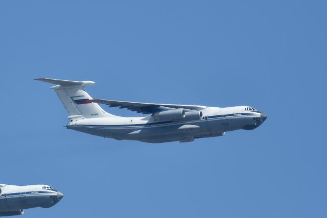 モスクワ市内で撮影されたモスクワ市内の航空機写真