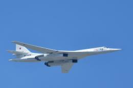 しゅん83さんが、モスクワ市内で撮影したRussian Aerospace Force Tupolev Tu-160の航空フォト(飛行機 写真・画像)