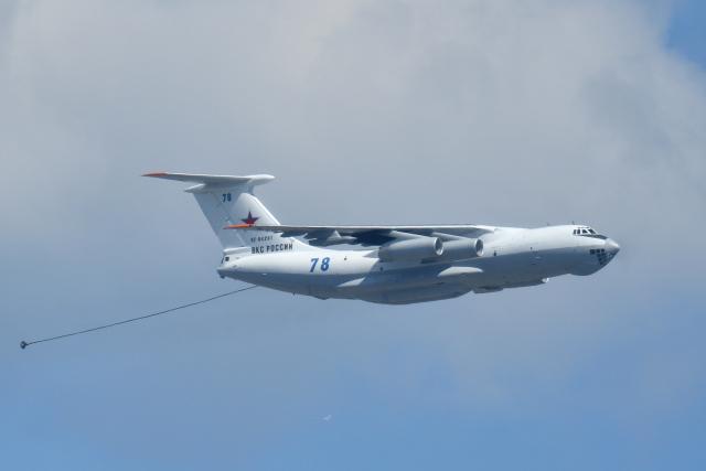 しゅん83さんが、モスクワ市内で撮影したRussian Aerospace Force Il-78Mの航空フォト(飛行機 写真・画像)