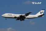 tassさんが、成田国際空港で撮影したイラン航空 747-286BMの航空フォト(飛行機 写真・画像)