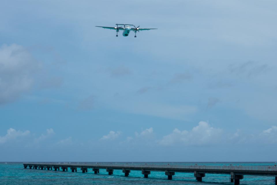 チャッピー・シミズさんの海上保安庁 Bombardier DHC-8-300 (JA720A) 航空フォト