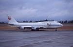 kumagorouさんが、鹿児島空港で撮影した日本航空 747-346SRの航空フォト(飛行機 写真・画像)
