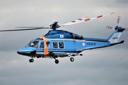 MSN/PFさんが、名古屋飛行場で撮影した大阪府警察 AW139の航空フォト(飛行機 写真・画像)