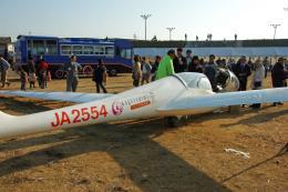 Gambardierさんが、吉井川邑久滑空場で撮影した日本個人所有 G103C Twin III SLの航空フォト(飛行機 写真・画像)