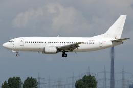 Hariboさんが、デュッセルドルフ国際空港で撮影したカメルーン・エアラインズ 737-3H9の航空フォト(飛行機 写真・画像)