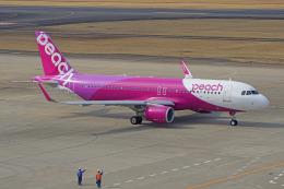 ちゃぽんさんが、仙台空港で撮影したピーチ A320-214の航空フォト(飛行機 写真・画像)