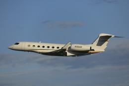 ピーチさんが、岡山空港で撮影したウェルズ・ファーゴ・バンク・ノースウェスト G650 (G-VI)の航空フォト(飛行機 写真・画像)