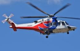 ブルーさんさんが、静岡ヘリポートで撮影した広島県防災航空隊 AW139の航空フォト(飛行機 写真・画像)