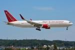 デルタおA330さんが、横田基地で撮影したオムニエアインターナショナル 767-323/ERの航空フォト(飛行機 写真・画像)
