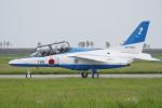 やまけんさんが、松島基地で撮影した航空自衛隊 T-4の航空フォト(飛行機 写真・画像)