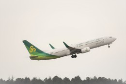 エルさんが、成田国際空港で撮影した春秋航空日本 737-86Nの航空フォト(飛行機 写真・画像)