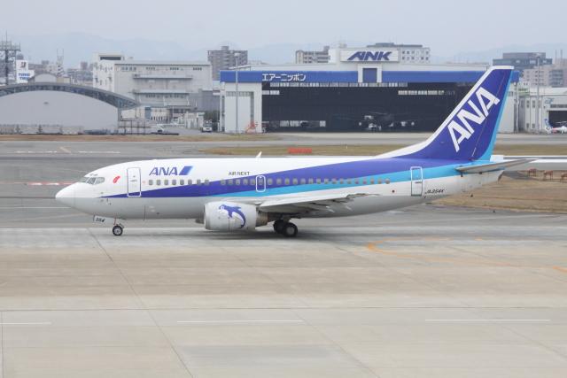 kahluamilkさんが、福岡空港で撮影したエアーネクスト 737-5Y0の航空フォト(飛行機 写真・画像)