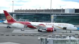 誘喜さんが、ヘルシンキ空港で撮影した吉祥航空 787-9の航空フォト(飛行機 写真・画像)