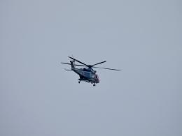 OcTk911さんが、富山空港で撮影した富山県警察 AW139の航空フォト(飛行機 写真・画像)