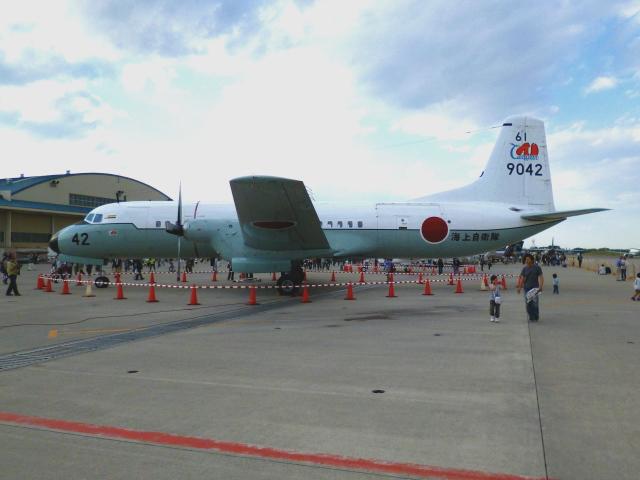 masahiさんが、厚木飛行場で撮影した海上自衛隊 YS-11-113Mの航空フォト(飛行機 写真・画像)