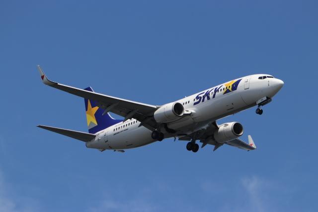 imosaさんが、羽田空港で撮影したスカイマーク 737-86Nの航空フォト(飛行機 写真・画像)