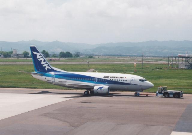 プルシアンブルーさんが、仙台空港で撮影したエアーニッポン 737-54Kの航空フォト(飛行機 写真・画像)