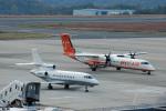 Gambardierさんが、岡山空港で撮影したアメリカ企業所有 Falcon 900EXの航空フォト(飛行機 写真・画像)