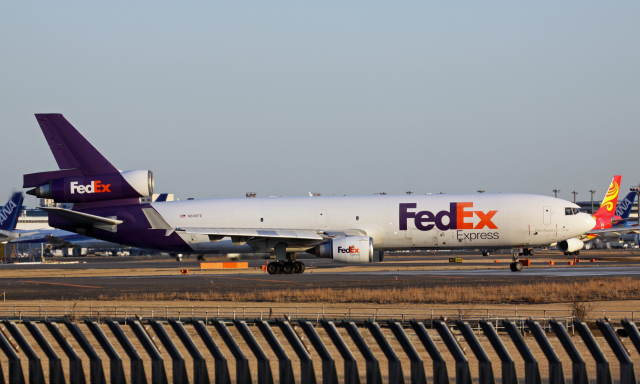 Nobu-oji_NEXUS6さんが、成田国際空港で撮影したフェデックス・エクスプレス MD-11Fの航空フォト(飛行機 写真・画像)