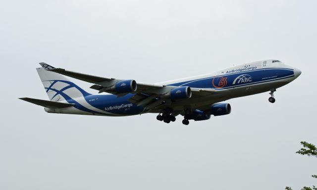 Nobu-oji_NEXUS6さんが、成田国際空港で撮影したエアブリッジ・カーゴ・エアラインズ 747-4EVF/ER/SCDの航空フォト(飛行機 写真・画像)