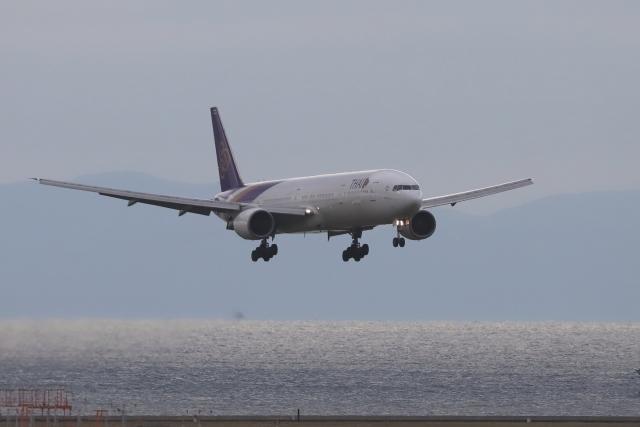 わんだーさんが、中部国際空港で撮影したタイ国際航空 777-3D7の航空フォト(飛行機 写真・画像)