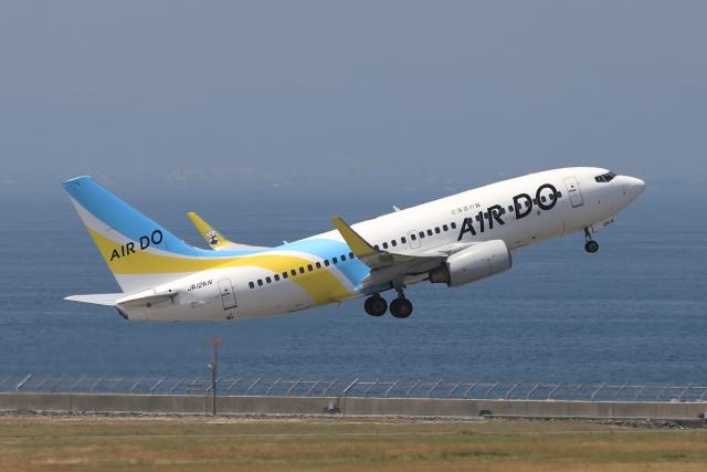 わんだーさんが、中部国際空港で撮影したAIR DO 737-781の航空フォト(飛行機 写真・画像)
