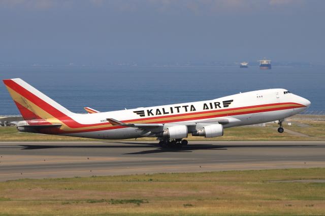 わんだーさんが、中部国際空港で撮影したカリッタ エア 747-481F/SCDの航空フォト(飛行機 写真・画像)