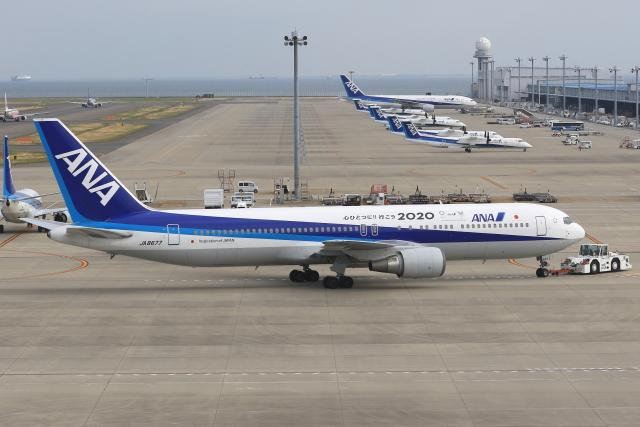 わんだーさんが、中部国際空港で撮影した全日空 767-381の航空フォト(飛行機 写真・画像)