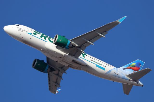 キャスバルさんが、フェニックス・スカイハーバー国際空港で撮影したフロンティア航空 A320-251Nの航空フォト(飛行機 写真・画像)