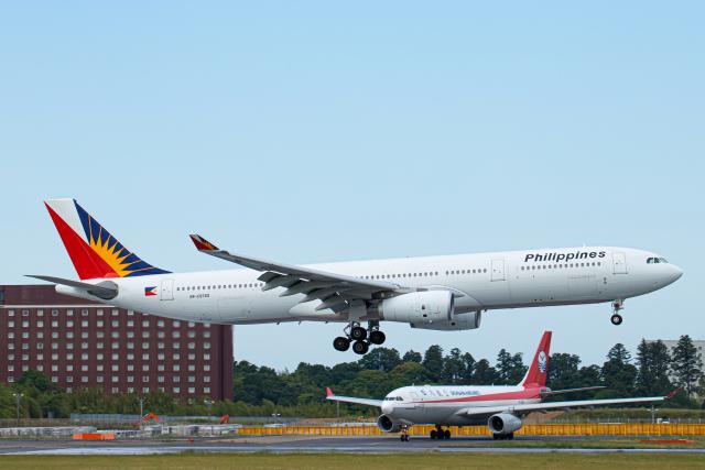 SGR RT 改さんが、成田国際空港で撮影したフィリピン航空 A330-343Eの航空フォト(飛行機 写真・画像)