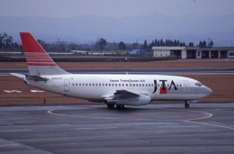 kumagorouさんが、鹿児島空港で撮影した日本トランスオーシャン航空 737-2Q3/Advの航空フォト(飛行機 写真・画像)