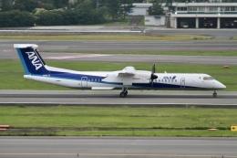 rjジジィさんが、伊丹空港で撮影したANAウイングス DHC-8-402Q Dash 8の航空フォト(飛行機 写真・画像)