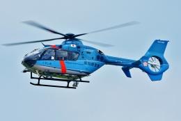 ブルーさんさんが、静岡ヘリポートで撮影した高知県警察 EC135T2+の航空フォト(飛行機 写真・画像)