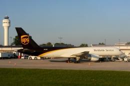 zettaishinさんが、シャーロット ダグラス国際空港で撮影したUPS航空 757-24APFの航空フォト(飛行機 写真・画像)