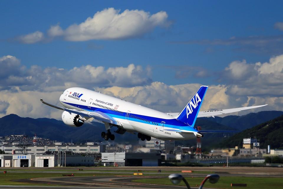 T.Sazenさんの全日空 Boeing 787-9 (JA830A) 航空フォト