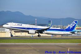 れんしさんが、福岡空港で撮影した全日空 A321-272Nの航空フォト(飛行機 写真・画像)