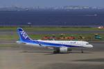 しかばねさんが、羽田空港で撮影した全日空 A320-271Nの航空フォト(飛行機 写真・画像)