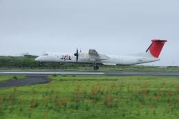 空旅さんが、沖永良部空港で撮影した日本エアコミューター DHC-8-402Q Dash 8の航空フォト(飛行機 写真・画像)
