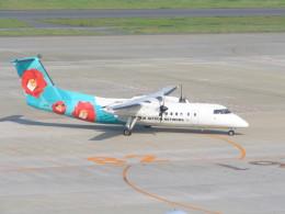 kahluamilkさんが、羽田空港で撮影したエアーニッポンネットワーク DHC-8-314Q Dash 8の航空フォト(飛行機 写真・画像)
